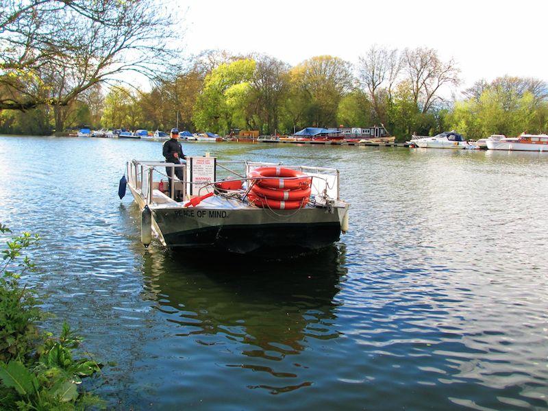 ferry - Richmond car-free adventures