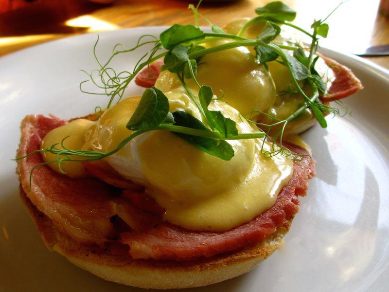 Eggs benedict - Northallerton car-free adventures