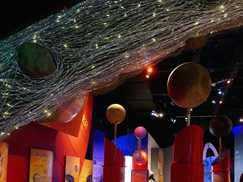 Planetarium - Leicester car-free adventures