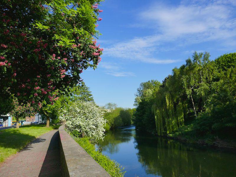 Riverside Walk - Derby car-free adventures