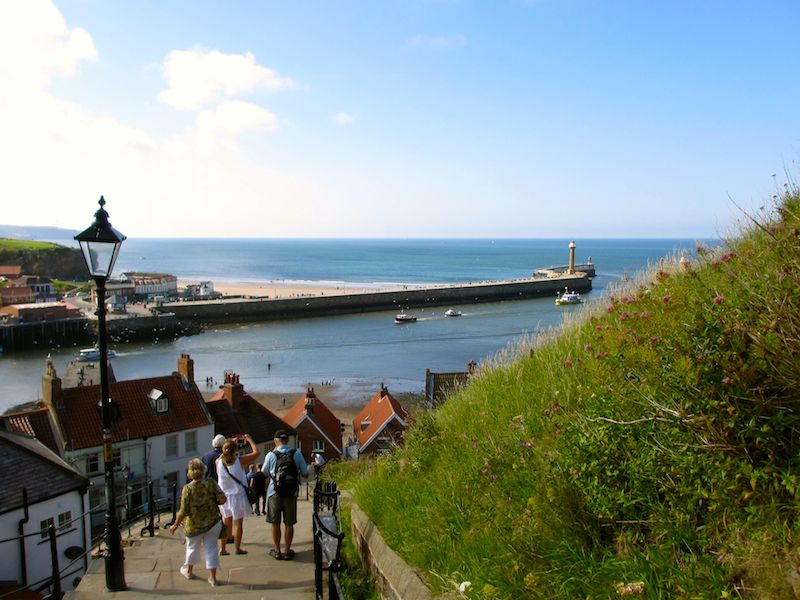 Whitby steps - Scarborough car-free adventures