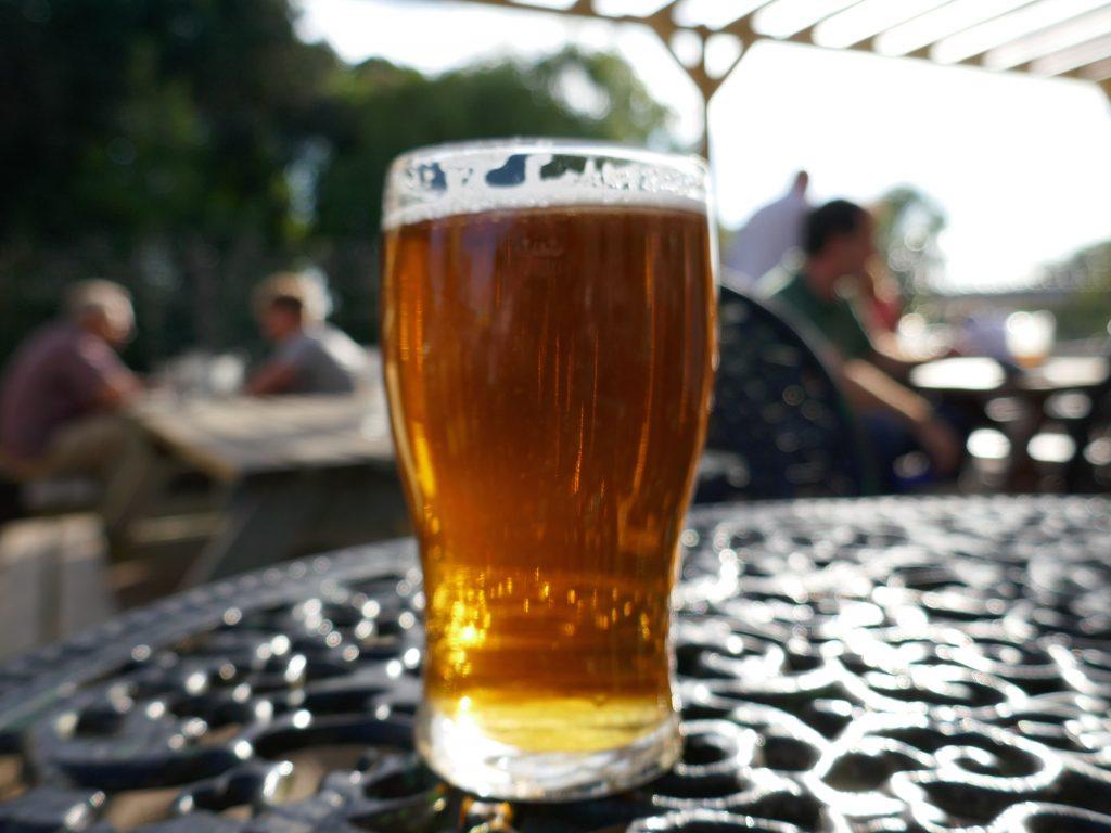 Pint of beer - Derby car-free adventures