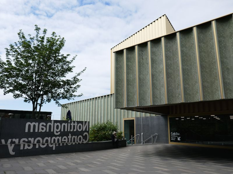 Nottingham Contemporary Museum - Nottingham car-free guide