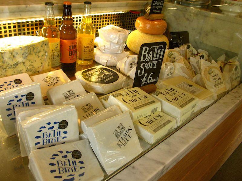 Bath soft cheese - Bath car-free adventures