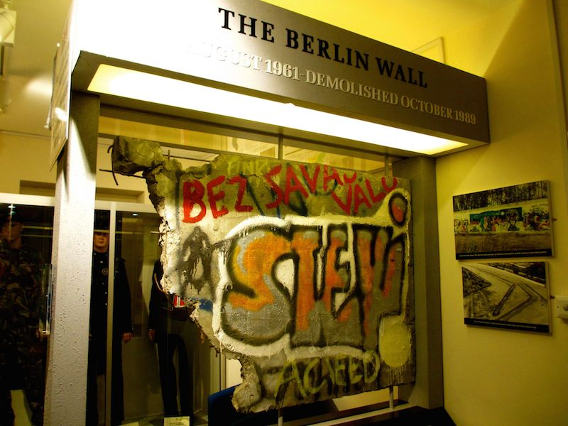 Berlin wall section - Bodmin car-free adventures