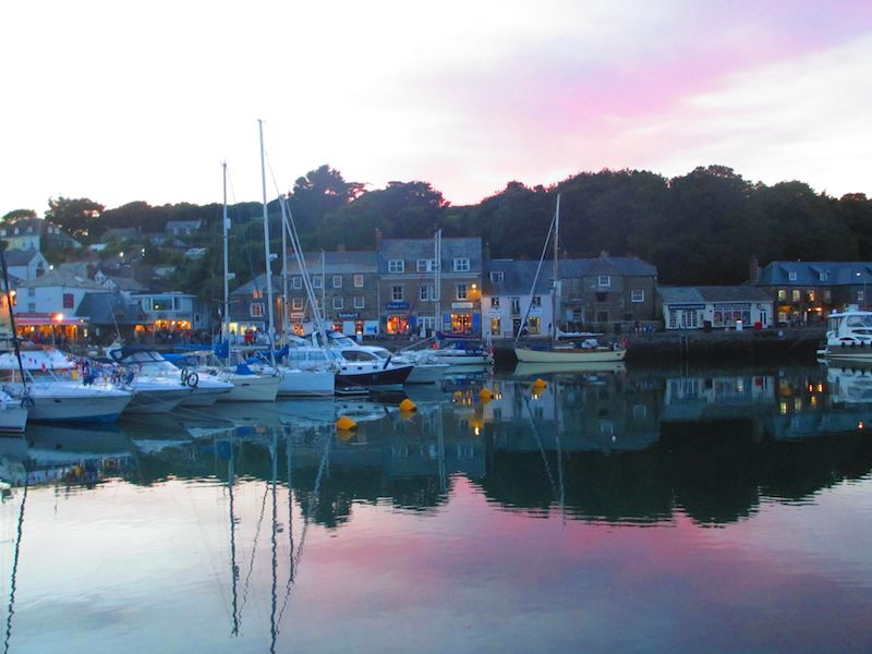 Boats in harbour - Bodmin car-free adventures