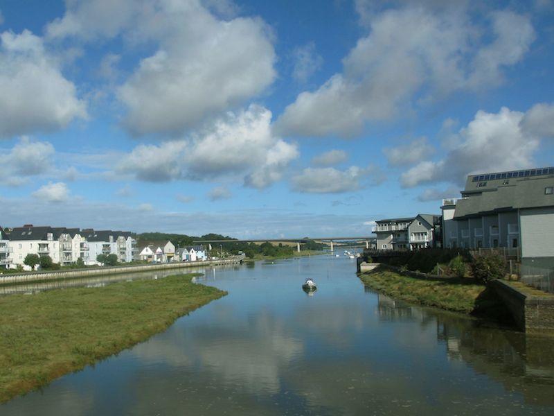 Wadebridge water view - Bodmin car-free adventures