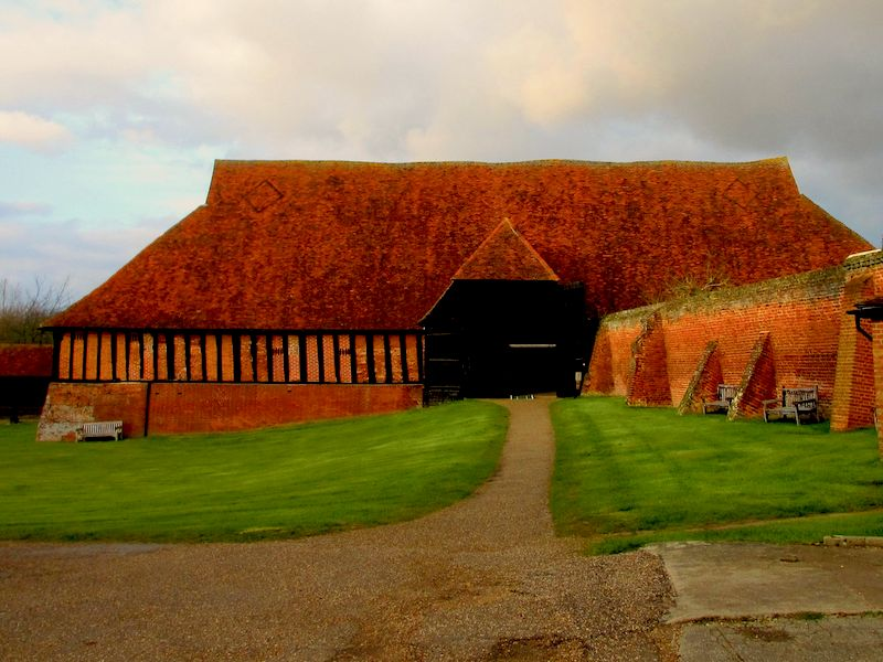 barn at Cressing Temple -Braintree car-free adventures