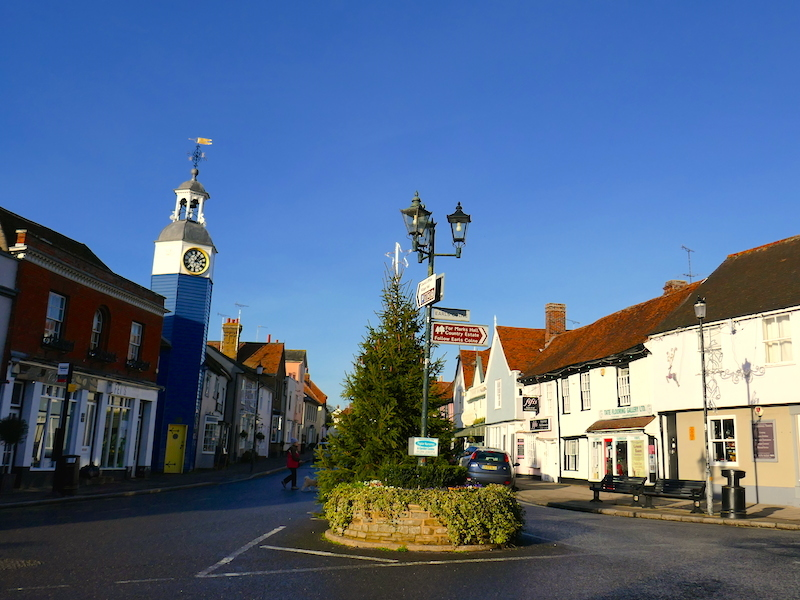 Street scene - Braintree car-free adventures