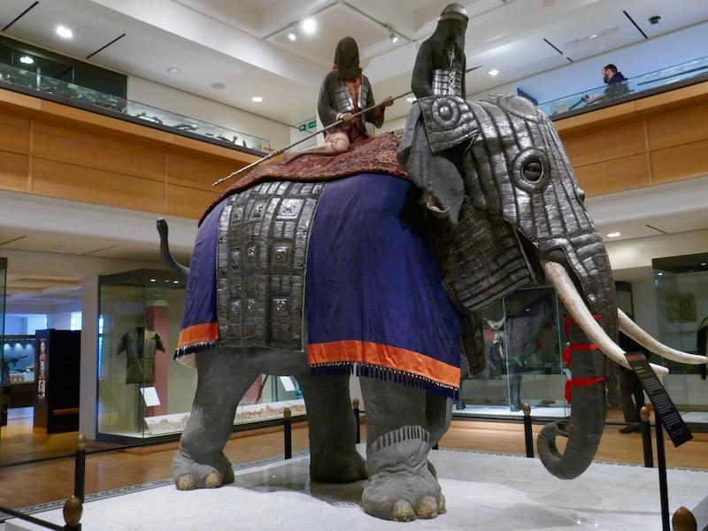 Elephant in museum - Leeds car-free adventures