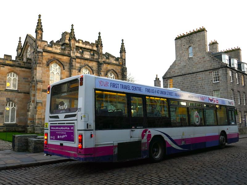 First bus - Car-free adventures around Aberdeen