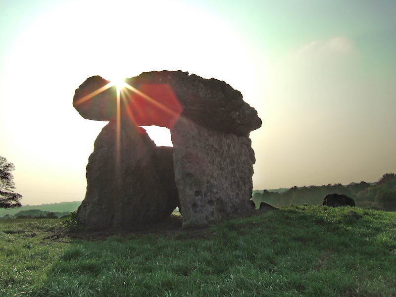 St Lythans - from our tour of ancient sites car-free