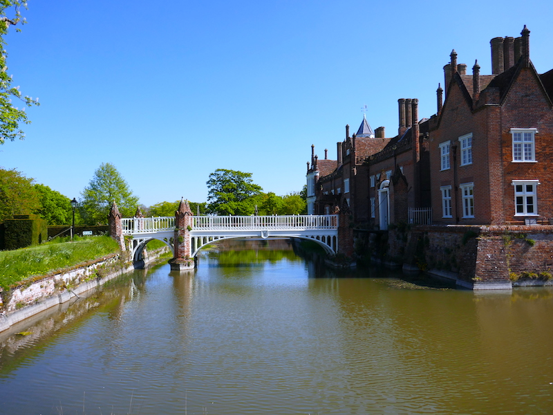 Helmingham Hall - spotted on our car-free summer adventures