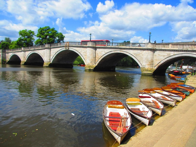 Boats by Richmond House - spotted on our car-free summer adventures