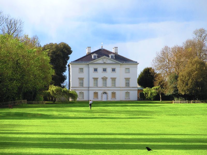 Marble Hill House - spotted on our car-free summer adventures
