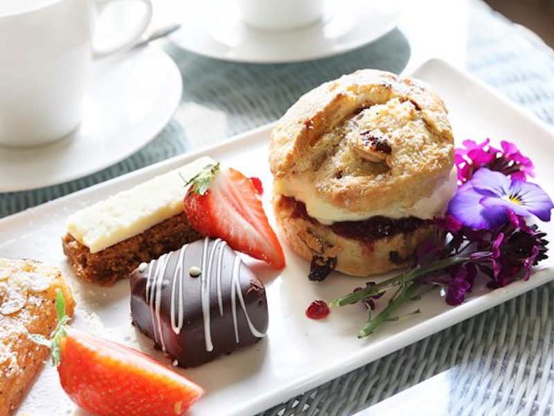 Afternoon tea - eaten on our tour of tea and cakes car-free venues