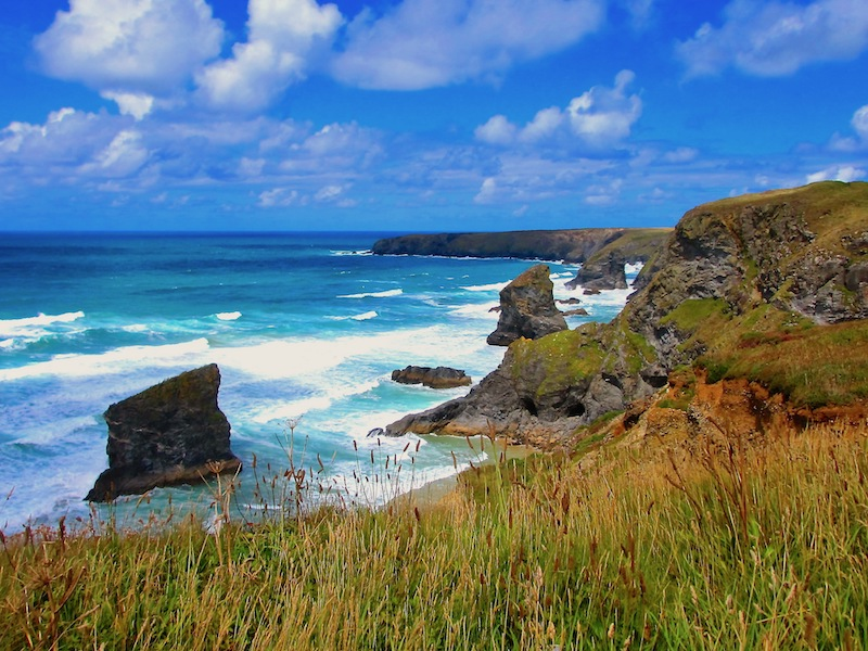 Bedruthan Steps - spotted on our Newquay car-free adventures