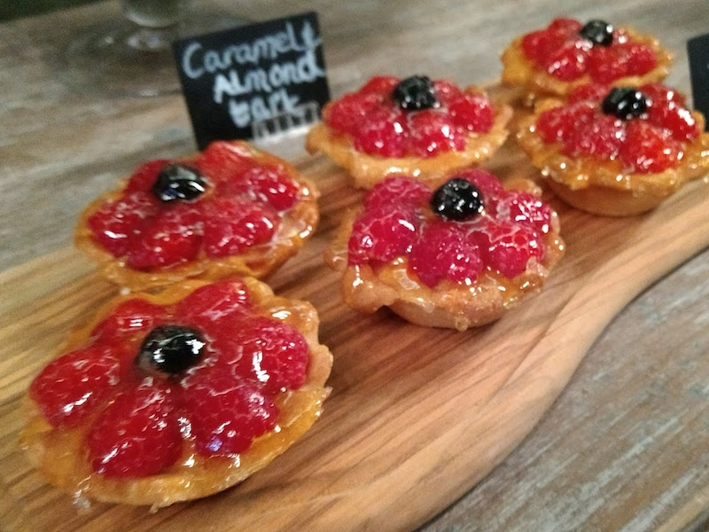 Delicious pastries - eaten on our tour of tea and cakes car-free venues