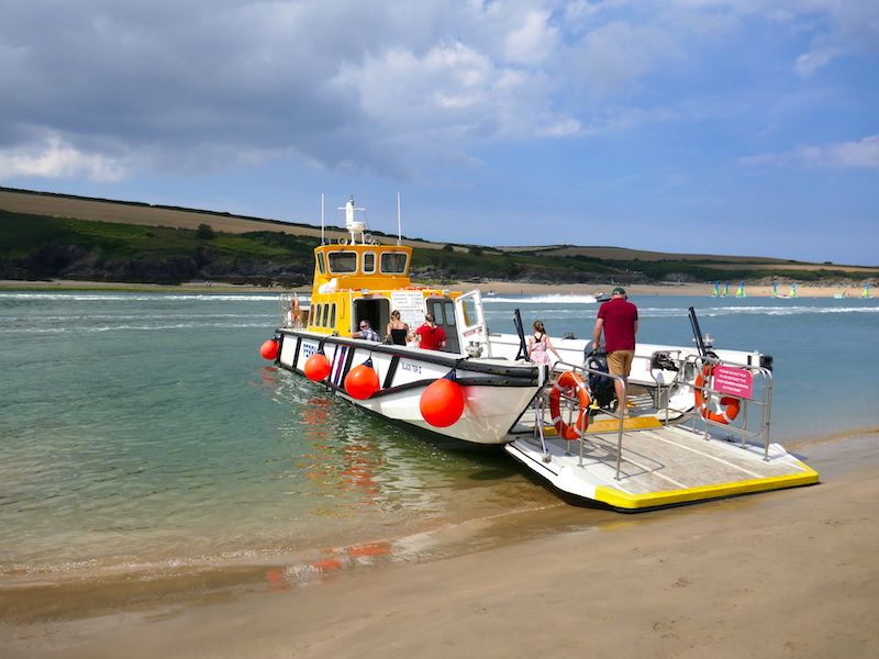 Padstow Ferry - spotted on our Newquay car-free adventures