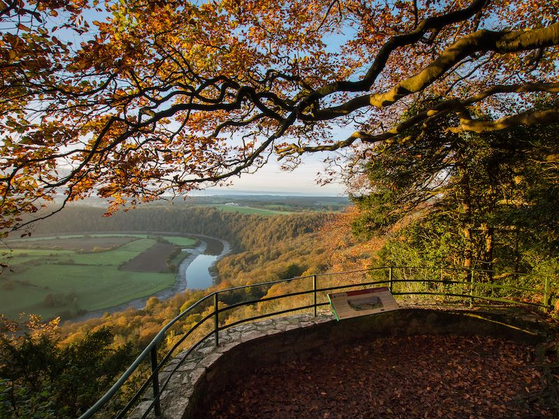 Wye Valley - Autumn colour car-free trips