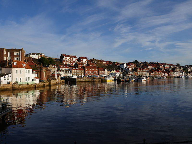 Whitby - along the route of the Coastliner Buses