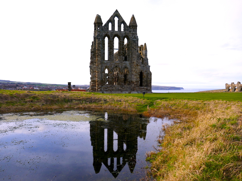 Whitby Abbey - along the route of the Coastliner Buses