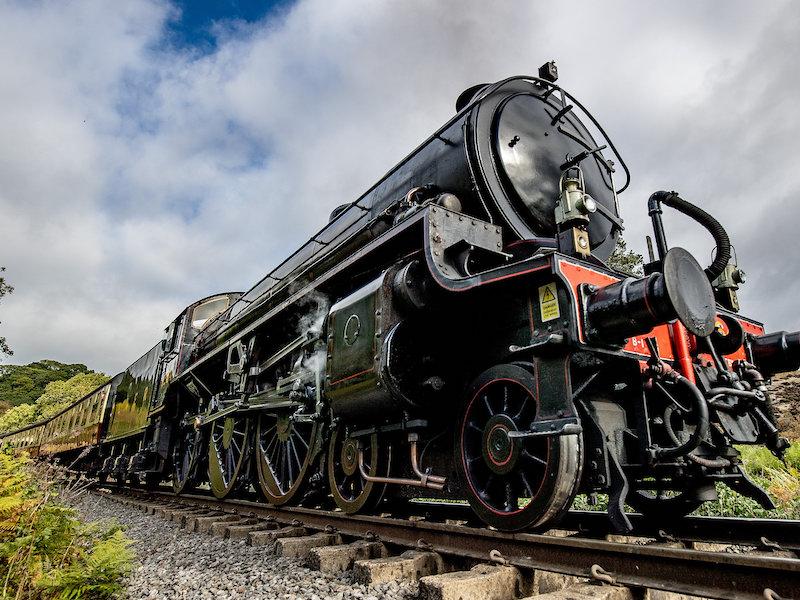 North York Moors Railway - spotted from Coastliner Buses