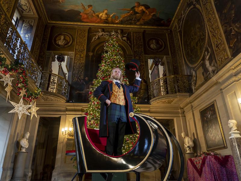 Christmas at Chatsworth - Car-free trips to see Christmas Magic