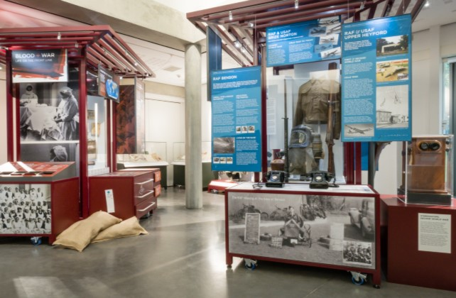 Soldiers of Oxfordshire Museum displays