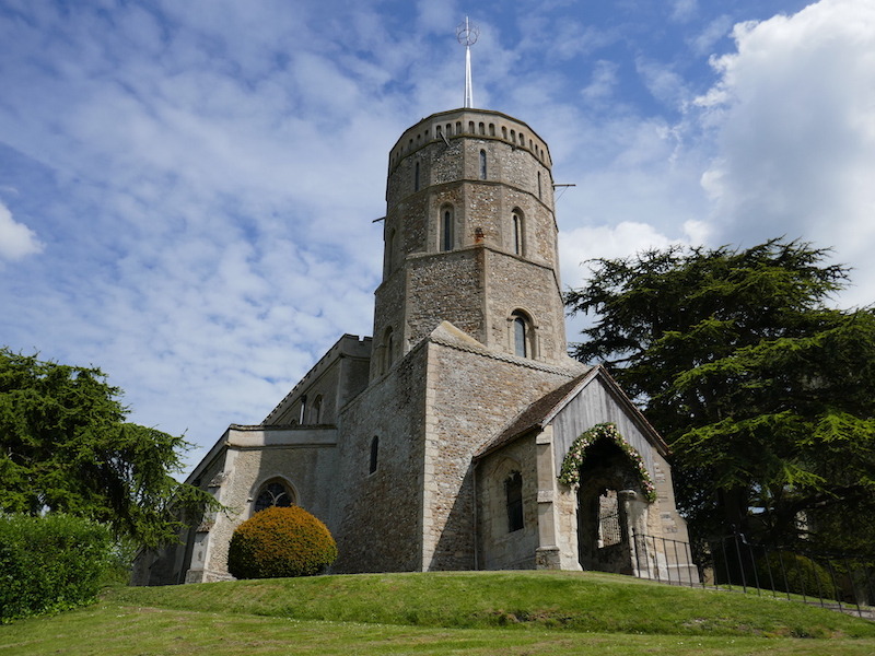 Swaffham Prior - spotted on our Car-free trips to amazing UK churches