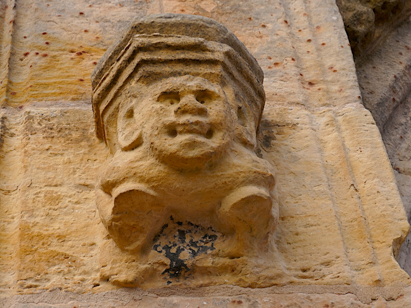 Gargoyle - spotted on our Car-free trips to amazing UK churches